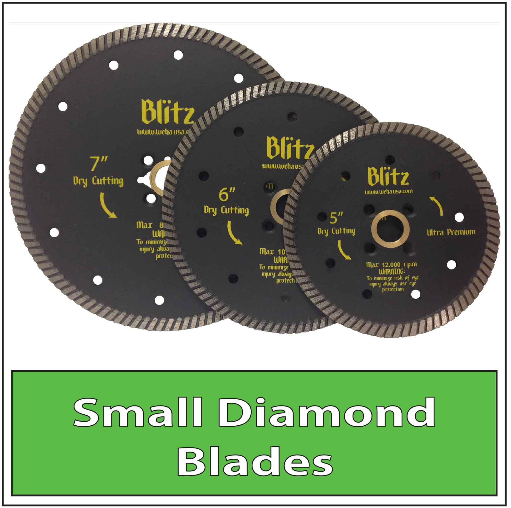Granite Stone Diamond Turbo Blades