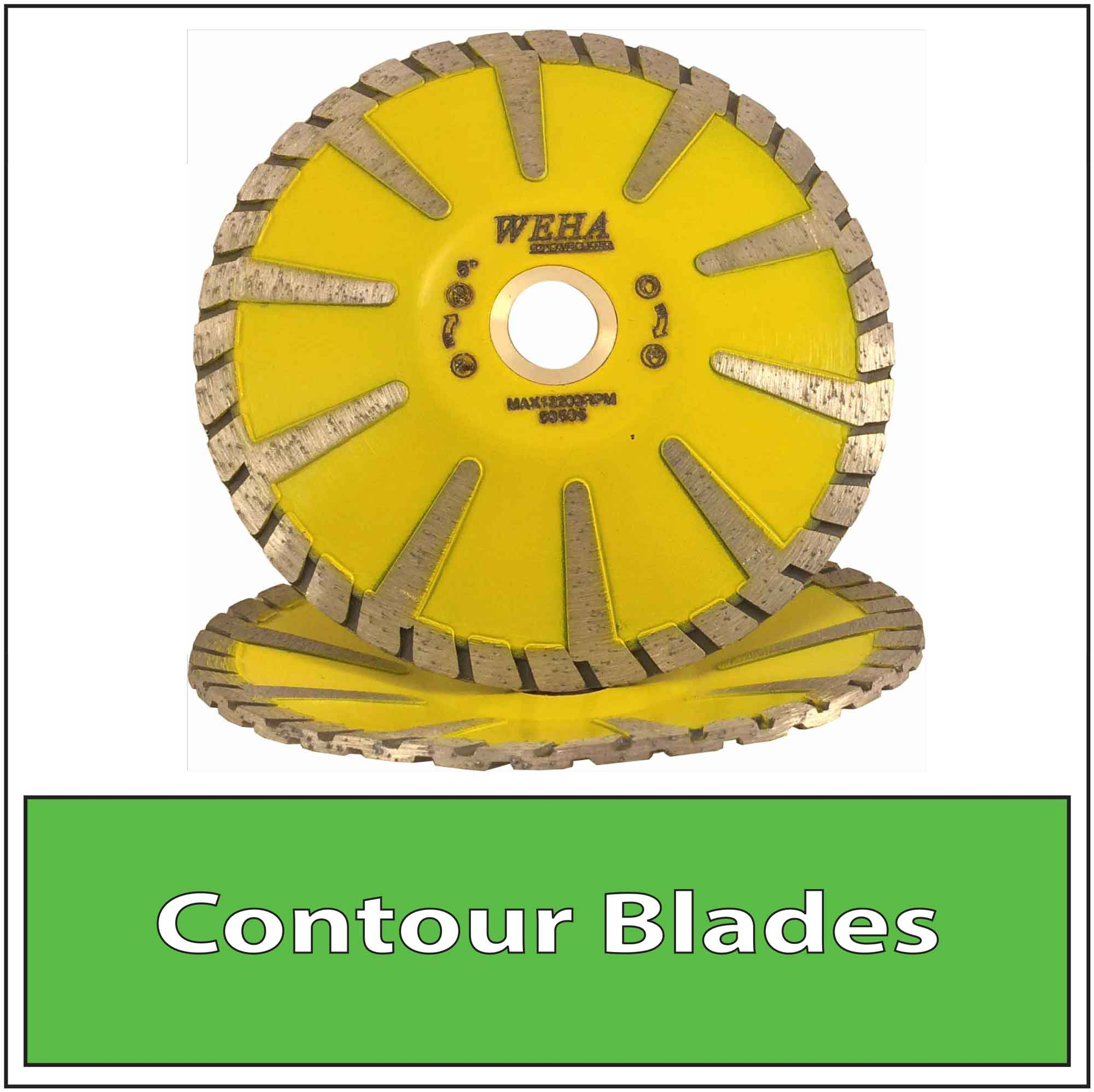 Granite Diamond Contour Blades Bowl Cutting Blade