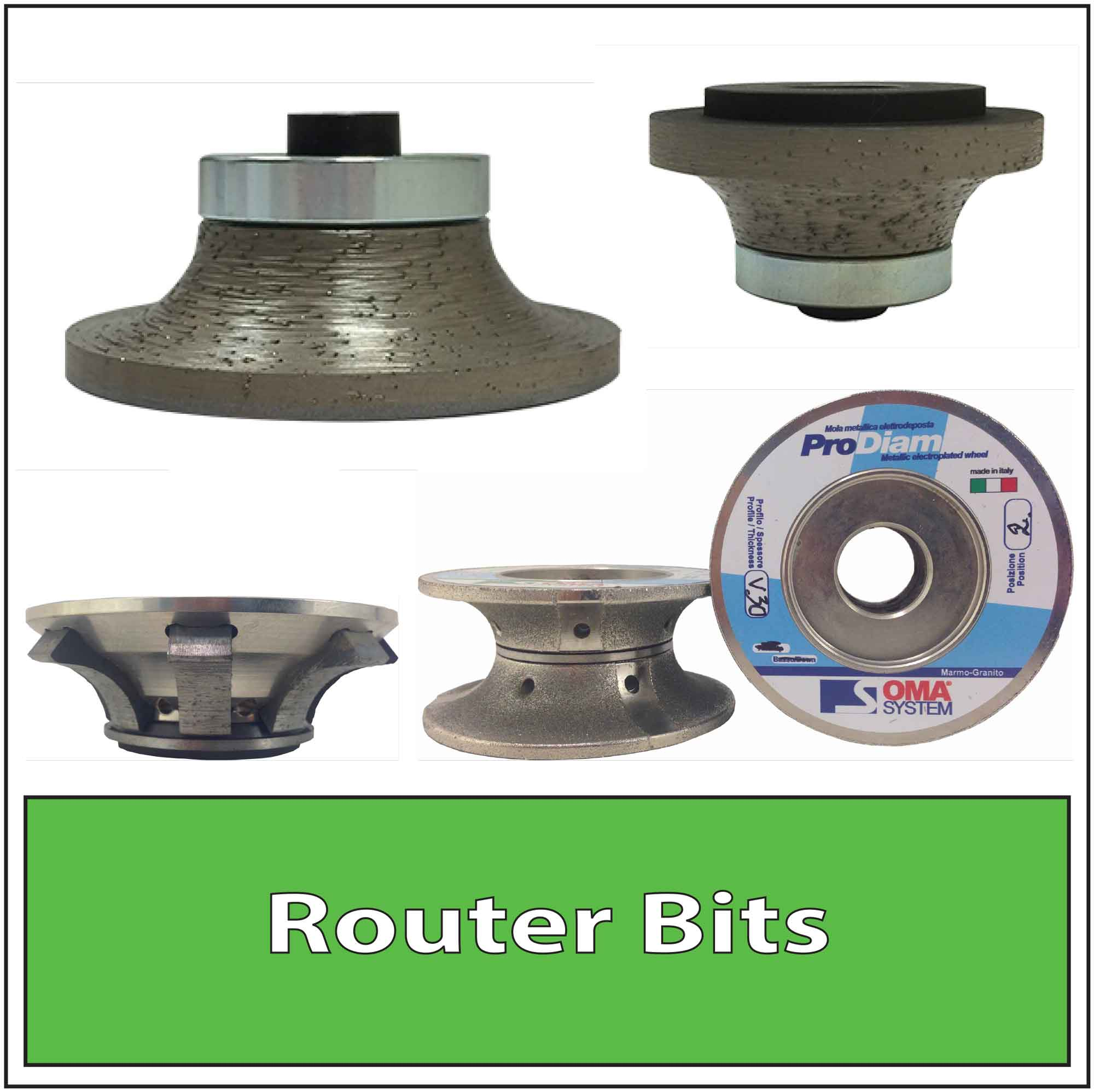 Granite Router Bits Stone Diamond Router Bits for Granite Fabrication