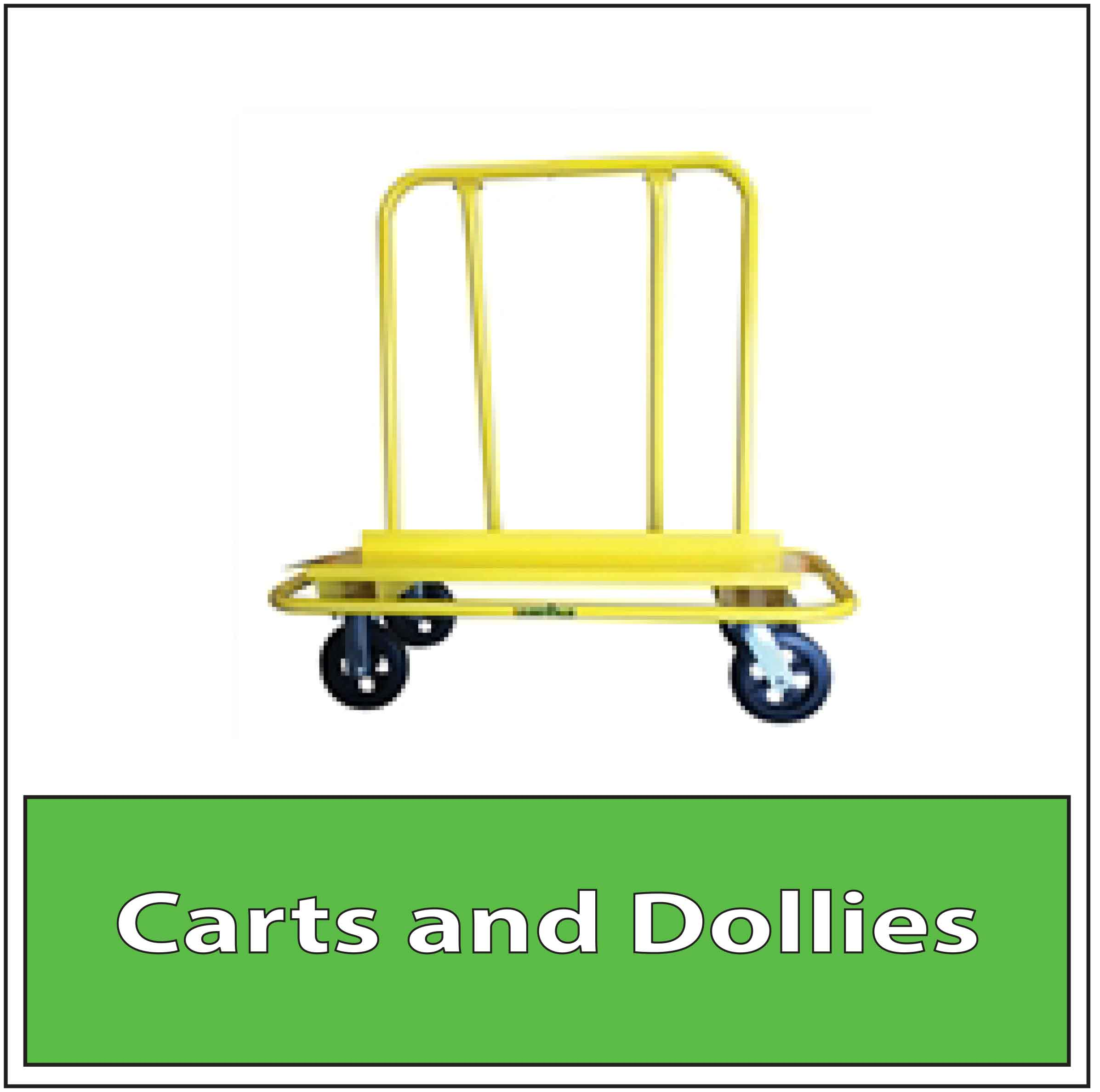 Granite Fabrication Shop Cart Stone Drywall Cart