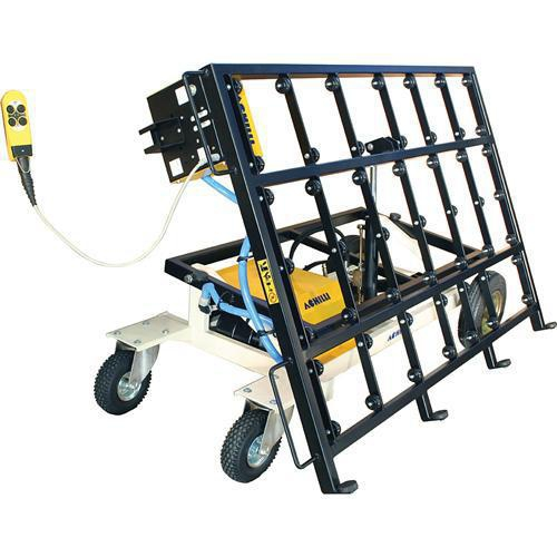 Tilting Stone Slab Transport Cart Granite Slab Cart