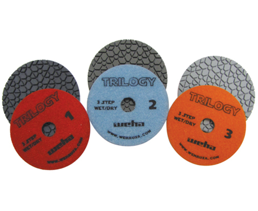 3 Step Polishing Pads