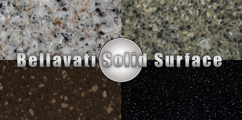 Bellavati Solid Surface Countertop Install Info