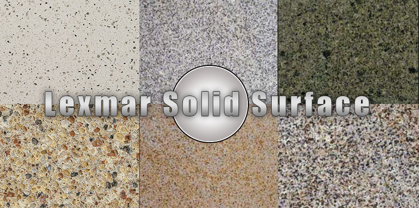 Lexmar Solid Surface Countertop Install Info