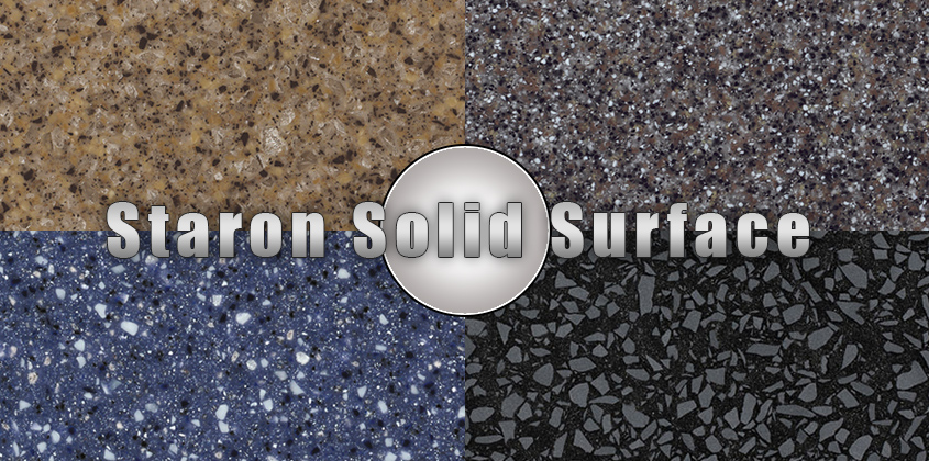 Staron Solid Surface Countertop Install Info