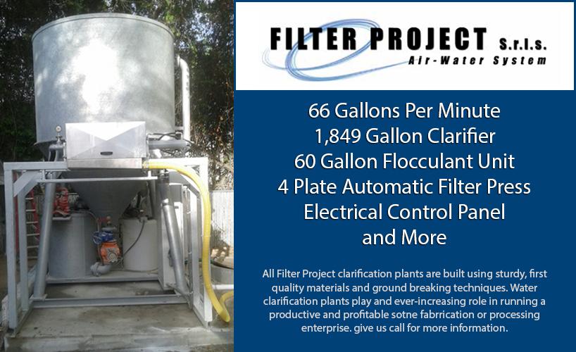Granite Water Clarification System Stone Water Treatment