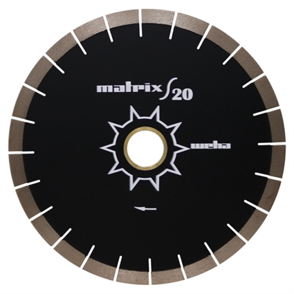 "16"" Matrix S20 Bridge Saw Blade"
