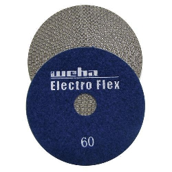 Marble Electroplated Diamond Polishing Pad, Velcro Marble Pad, Part # 11460