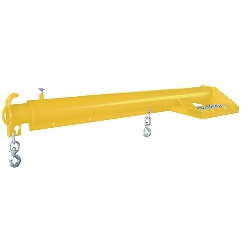 Weha Yellow Forklift Boom for natural and engineered stone slabs and bundles #123661