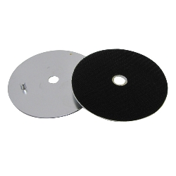 "4"" Rigid Aluminum Magnetic Velcro Back Up Pad Part # 125812"