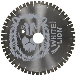 "Donatoni Bridge Saw Blade, 16"" White Lion Quartzite Diamond Bridge Saw Blade for stone Part#  128904D"