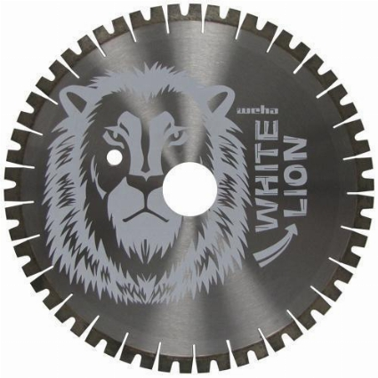 "Donatoni Bridge Saw Blade, 24"" White Lion Quartzite Diamond Bridge Saw Blade for stone Part#  128909D"