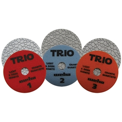 Trio 3 Step Flexible Diamond Polishing Pad