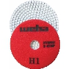 "Part#  13351 4"" Weha 3 STEP Hybrid Step 1 Diamond Polishing Pad Granite Marble Engineered Stone"