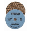 "3 Step Granite Diamond Polishing Pad, 4"" Weha Triad Dry Diamond Polishing Pad Pos 2 13372"