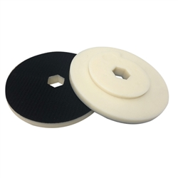 "6""  Snail Lock Velcro Back-Up Pad Part#  13396"