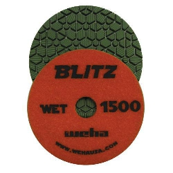 "Granite Polishing Pad, Diamond Polishing Pad,  4"" Granite Polishing Pad, Weha, 1500 Grit Part Part#  1341500"