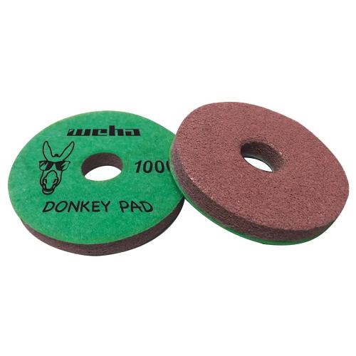 Weha 4 inch Monkey Quartz Face Polish Surface Polishing Pad 6000 Grit