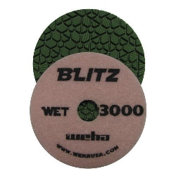 "Granite Polishing Pad, Diamond Polishing Pad,  4"" Granite Polishing Pad, Weha, 3000 Grit Part#  1343000"