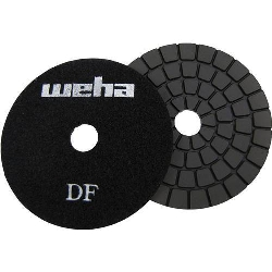 "Part#  134FBB 4"" Weha Ultra Buff Black Diamond Polishing Pad"