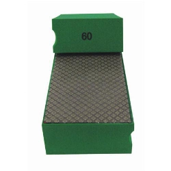 Cat # 13701 Weha Diamond Hand Polishing Pad 60 Grit