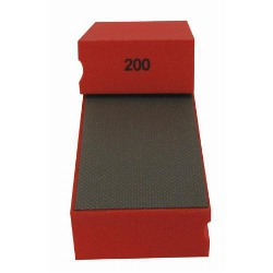 Cat # 13703 Weha Diamond Hand Polishing Pad 200 Grit