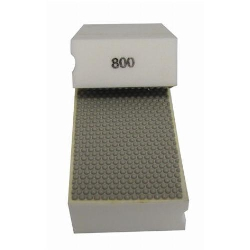 Cat # 13705 Weha Diamond Hand Polishing Pad 800 Grit