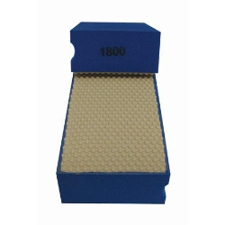 Cat # 13706 Weha Diamond Hand Polishing Pad 1800 Grit