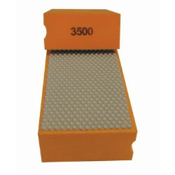 Cat # 13707 Weha Diamond Hand Polishing Pad 3500 Grit