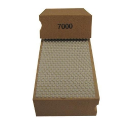 Cat # 13708 Weha Diamond Hand Polishing Pad 7000 Grit