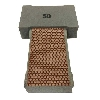 Cat # 13715 Weha Copper Diamond Hand Polishing Pad 50 Grit