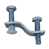 Undermount Sink Clip, Granite Sink Clip, Vanity Bowl Undermount Clip Part #138399