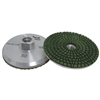 50 grit Resin Filled Diamond Cupwheel, Aluminum Cup Wheel, Chip Free Grinding Pitbull, Part #142312