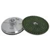 100 grit Resin Filled Diamond Cupwheel, Aluminum Cup Wheel, Chip Free Grinding Pitbull, Part #142313