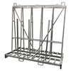 "Extra Tall A frame Cart Double Sided Transport Cart 92"" x 43"" x 94"""