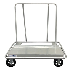 Welded Drywall Cart, Welded Granite Drywall Cart, Stone Galvanized Drywall Cart, Part #145501