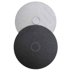 "4"" Velcro Silicon Carbide Sandpaper, Marble Sandpaper, Hook and Loop Sandpaper, 40 grit Part # 146003"