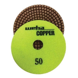 Cat # 15401 Weha Copper Diamond Polishing Pad 50 Grit
