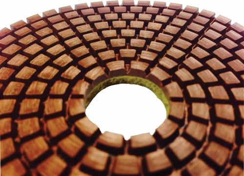 Copper Diamond Polishing Pad Granite Copper Pads Copper