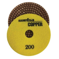 Cat # 15403 Weha Copper Diamond Polishing Pad 200 Grit