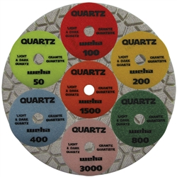 "4"" Weha Quartz Polishing Pad"
