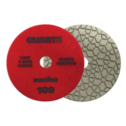 "Part#  165100 5"" Weha ES Engineered Stone Diamond Polishing Pad 5 Inch 100"