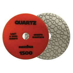 "Part#  1651500 5"" Weha ES Engineered Stone Diamond Polishing Pad 5 Inch 1500"