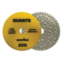 "Part#  165200 5"" Weha ESEngineered Stone Diamond Polishing Pad 5 Inch 200"