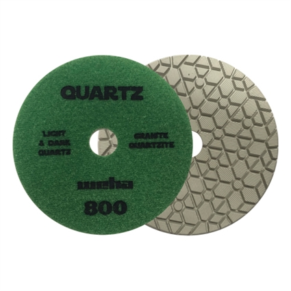 "Part#  165800 5"" Weha ES Engineered Stone Diamond Polishing Pad 5 Inch 800"