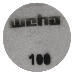 "Part # 1751 Weha 17"" Slim Diamond Floor Polishing Pad 100 Grit"
