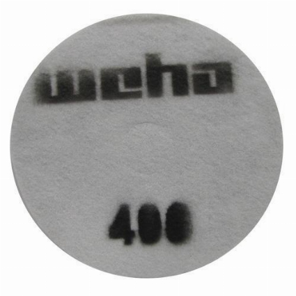 "Part # 1753 Weha 17"" Slim Diamond Floor Polishing Pad 400 Grit"