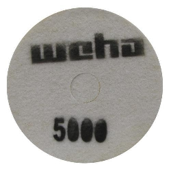 "Part # 1757 Weha 17"" Slim Diamond Floor Polishing Pad 5000 Grit"