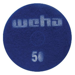 "Part # 1760 Weha 17"" Thick Diamond Floor Polishing Pad 50 Grit"