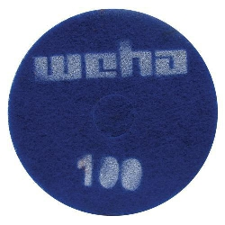 "Part # 1761 Weha 17"" Thick Diamond Floor Polishing Pad 100 Grit"